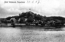 Hotel Waldesruh auf einer Ansichtskarte um 1907