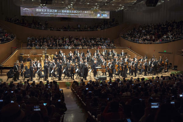 Berliner Philharmoniker mit Sir Simon Rattle