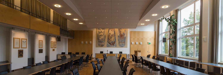 Ratssaal im Rathaus Geesthacht