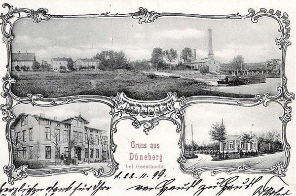 Postkarte aus Düneberg