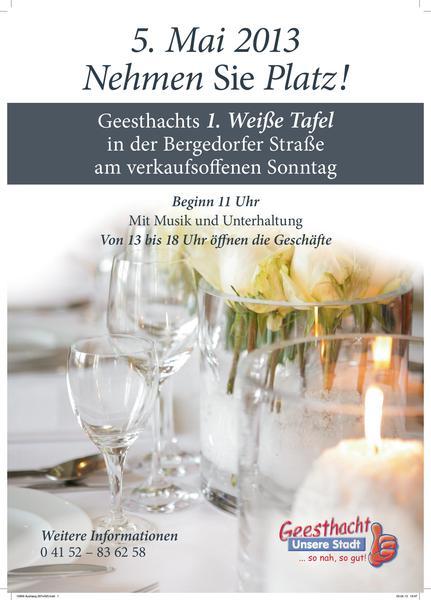 Verkaufsoffener Sonntag Am 5 Mai 2013 Geesthacht